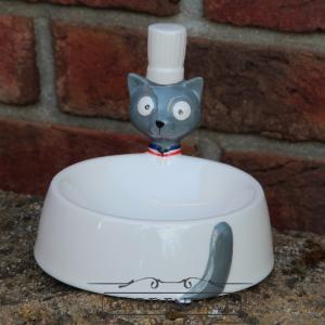 """keramická miska pro kočky """"kuchtík"""""""