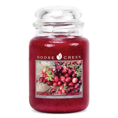vonná svíčka GOOSE CREEK Cranberry 680g