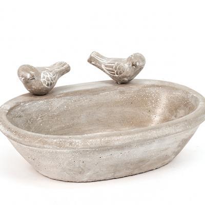 ptačí pítko/koupel s ptáčky