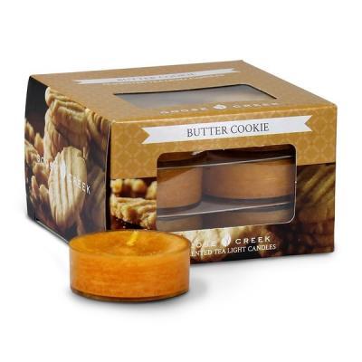 vonné čajové svíčky GOOSE CREEK Butter Cookie 12 ks