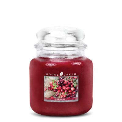 vonná svíčka GOOSE CREEK Cranberry 450g