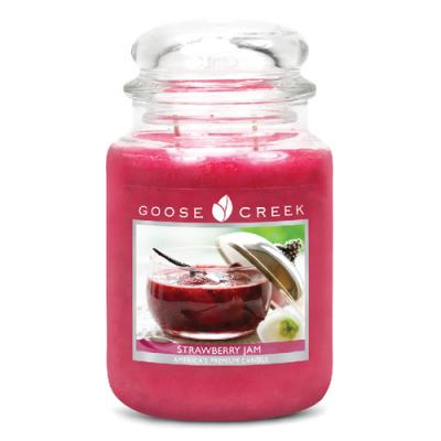 vonná svíčka GOOSE CREEK Strawberry Jam 680g