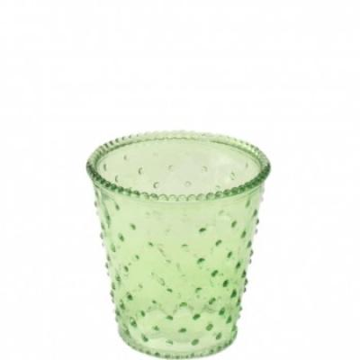 svícen/váza zelená