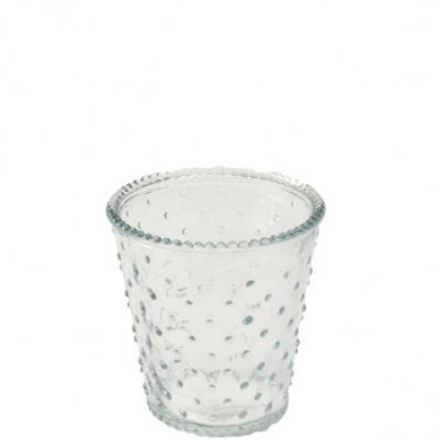 svícen/váza bílá