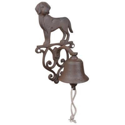 litinový zvonek - pes