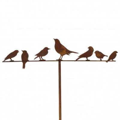 """kovový zápich """"ptačí hejno"""""""