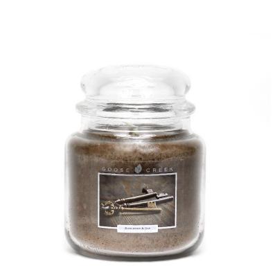 vonná svíčka GOOSE CREEK Burlwood & Oak 450g
