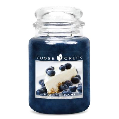 vonná svíčka GOOSE CREEK Blueberry Cheesecake  680g