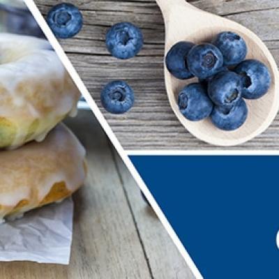 vonný vosk GOOSE CREEK Blueberry Cake Donut 59g