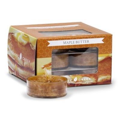 vonné čajové svíčky GOOSE CREEK Maple Butter 12 ks