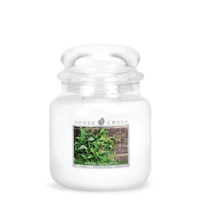 vonná svíčka GOOSE CREEK Minted Eucalyptus  450g