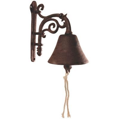 venkovní litinový zvon s volutkou