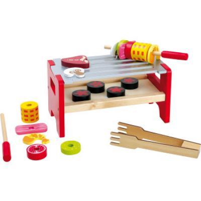 dětský dřevěný stolní gril