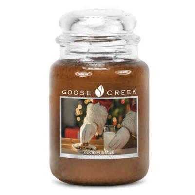 vonná svíčka GOOSE CREEK Cookies & milk 680g limitovaná edice
