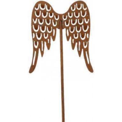 kovový zápich křídla 25 cm