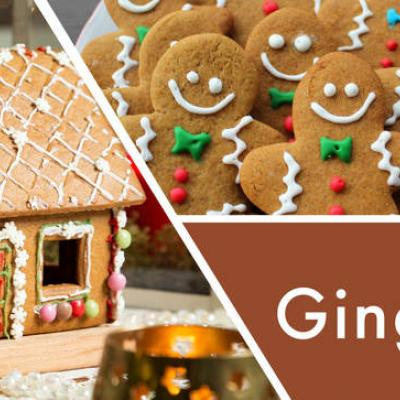 vonná svíčka GOOSE CREEK Gingerbread Lane 680g