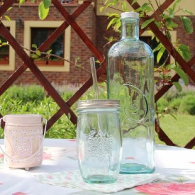 láhev z recyklovaného skla 1,6l