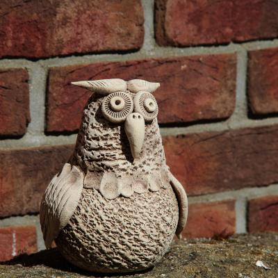 sová malá - zahradní keramika morkusovic