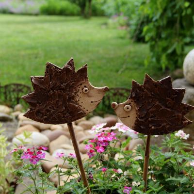 keramický zápich ježek