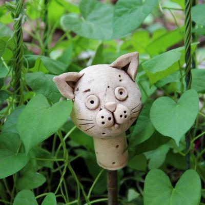 zápich keramická kočka