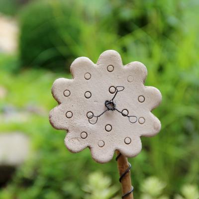zápich keramická květina pestíky drátek