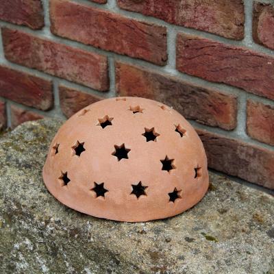 keramická lucerna hvězdy
