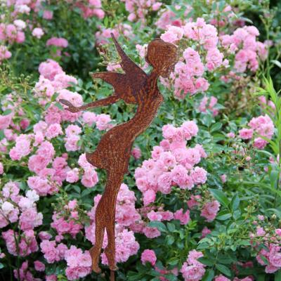 zahradní kovový zápich vílá velká