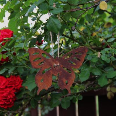 závěsný kovový motýl set dvou kusů