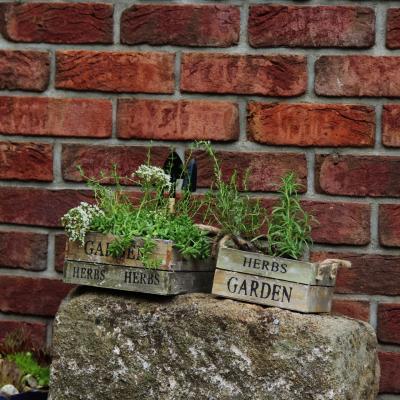 """set květníků """"bylinková zahrádka"""" s nářadím"""