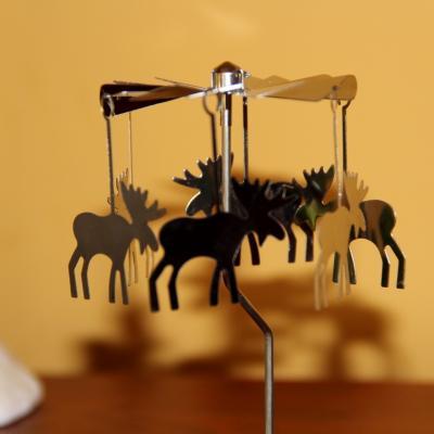 kovové andělské zvonění na čajovou svíčku - sobi