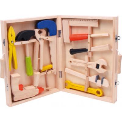 """dětské dřevěné nařadí v kufříku """"malý kutil"""""""