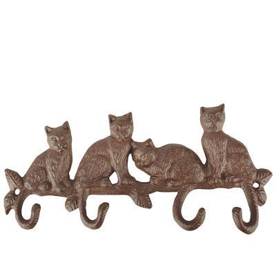 litinový háček kočky