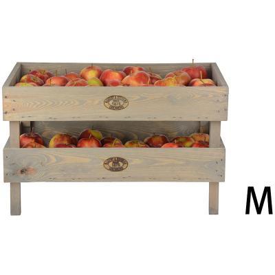 dřevěná přepravka na uskladnění úrody M