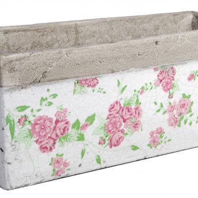 truhlík kamenina/růže