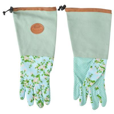 prodloužené zahradní rukavice - růže