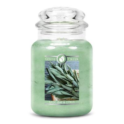 vonná svíčka GOOSE CREEK Sage Leaf & Citrus 680g