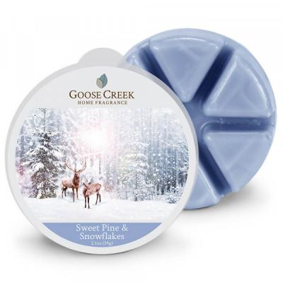 vonný vosk GOOSE CREEK Sweet Pine & Snowflakes 59g