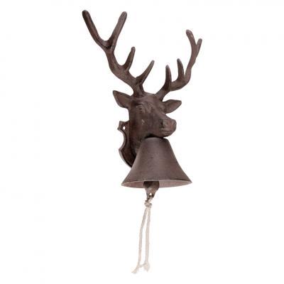 litinový zvon jelen