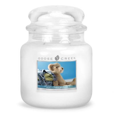 vonná svíčka GOOSE CREEK Soft Linen Breeze 450g
