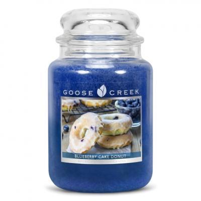 vonná svíčka GOOSE CREEK Blueberry Cake Donut  680g