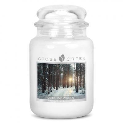 vonná svíčka GOOSE CREEK Sparkling Woods 680g