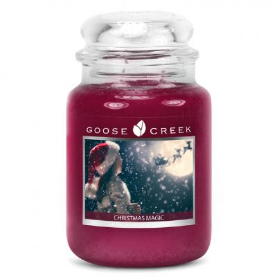 vonná svíčka GOOSE CREEK Christmas Magic 680g