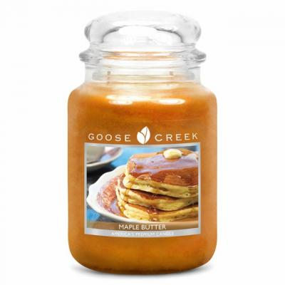 vonná svíčka GOOSE CREEK Maple Butter 680g