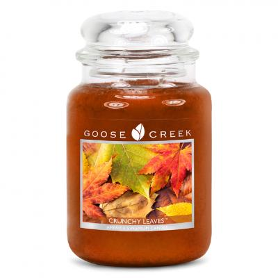 vonná svíčka GOOSE CREEK crunchy leaves 680g