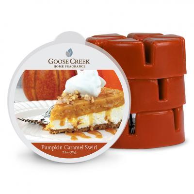 vonný vosk GOOSE CREEK Pumpkin Caramel Swirl 59g